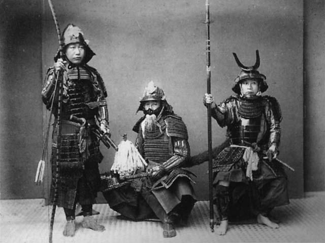 Les guerriers du Japon... Samurai